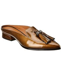 Franco Sarto Nevan Patent Mule - Brown