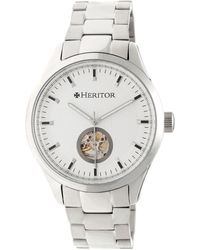 Heritor - Crew Stainless Steel Watch, 46mm - Lyst