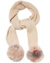 Jocelyn - Fox Fur Scarf - Lyst