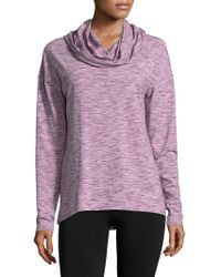 Gaiam - Relax Hooded Top - Lyst