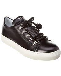Tod's - Sportivo Leather Sneaker - Lyst