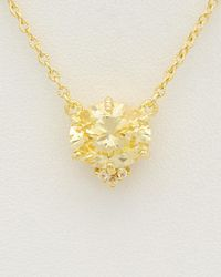 Judith Ripka - 14k Over Silver White Topaz & Cz Necklace - Lyst