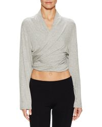 Electric Yoga - Drape Wrap - Lyst