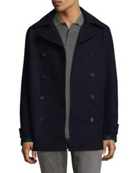 Fred Perry - Pea Coat - Lyst