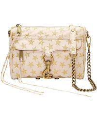 Rebecca Minkoff | Mini Mac Stars Leather Crossbody Bag | Lyst