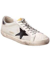 Golden Goose Deluxe Brand Leather & Mesh Sneaker