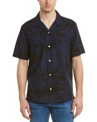 Vince - Palm Leaf Cabana Buttondown Shirt - Lyst