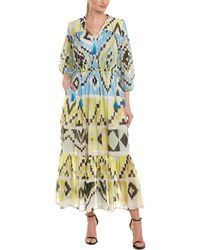 Max Mara Weekend Silk-blend Maxi Dress