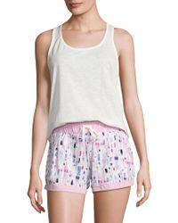 Jane And Bleecker - Cotton Pyjama Set - Lyst