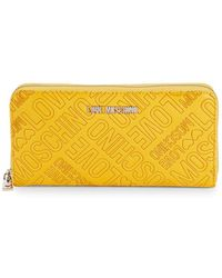 Love Moschino - Faux Leather Continental Zip-around Wallet - Lyst