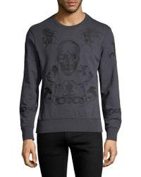 Alexander McQueen - Skull Graphic Sweater - Lyst