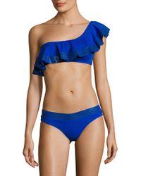 Mouillé Swim - Naomi Asymmetric Bikini Set - Lyst