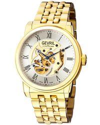 Gevril Watches - Vanderbilt Open Heart Automatic Watch, 47mm - Lyst