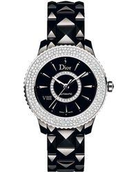 Dior - Christian Viii Diamond Watch - Lyst