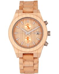 Earth Wood - Unisex Castillo Watch - Lyst