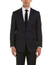 Brooks Brothers - Regent Fit Wool Suit With Flat Front Pant - Lyst