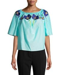 Temperley London - Amity Off-the-shoulder Top - Lyst