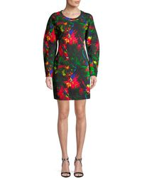 Love Moschino - Print Shift Dress - Lyst