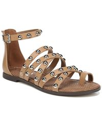 Circus by Sam Edelman - Carla Studded Cage Sandals - Lyst
