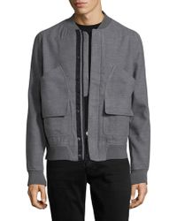 Tavik - Harford Ribbed Bomber Jacket - Lyst