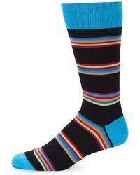 Bugatchi - Bold Stripe Socks - Lyst