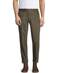 Michael Bastian - Herringbone Cotton Pants - Lyst