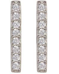 Adornia Silver Crystal Studs