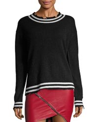 RTA - Charlotte Distressed Cashmere Sweater - Lyst