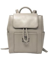 Tory Burch - Britten Leather Backpack - Lyst