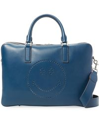 Anya Hindmarch - Walton Smiley Briefcase - Lyst