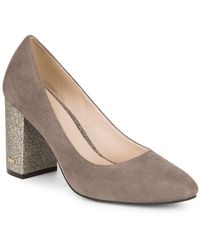 Cole Haan - Alanna Suede Court Shoes - Lyst