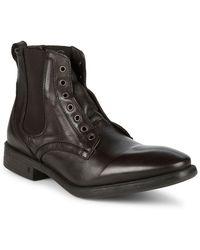 John Varvatos - Bleecker Laceless Boot - Lyst