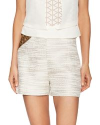 SemSem - Semia High-rise Embroidered Short - Lyst