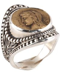 Konstantino - Kerma Silver Ring - Lyst