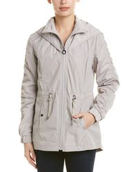 Laundry by Shelli Segal Quilted Hooded Windbreaker