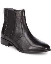 Seychelles - Beatrix Almond Toe Leather Booties - Lyst