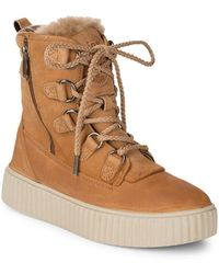 Pajar - Leather Lace-up Boots - Lyst