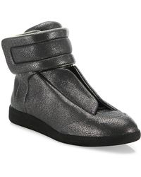 Maison Margiela - Stingray Future Leather High-top Sneakers - Lyst