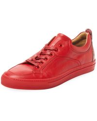 A'Louest - Maia Leather Low Top Sneaker - Lyst