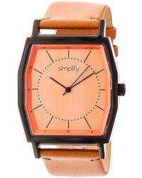 Simplify - Unisex The 5400 Watch - Lyst
