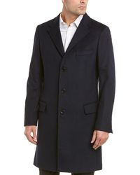 Roberto Cavalli - Montgomery Wool-blend Coat - Lyst