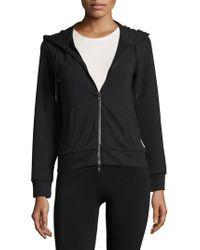 Armani Exchange - Solid Hooded Jacket - Lyst