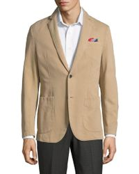 AT.P.CO - Notch Lapel Sportcoat - Lyst