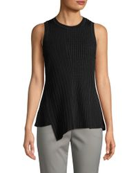 Jason Wu - Asymmetric Ribbed Top - Lyst