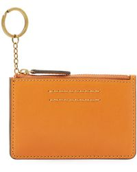 Frye - Harness Id Leather Card Case - Lyst