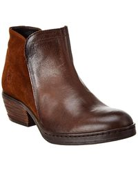 Fly London - Cled Leather Bootie - Lyst