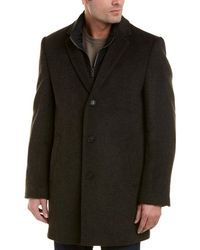 Hart Schaffner Marx - Kingman Wool-blend Coat - Lyst