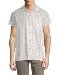Deus Ex Machina - Dean Vertical Stripe Sport Shirt - Lyst