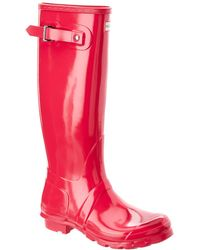 HUNTER Original Tall Gloss Rain Boot