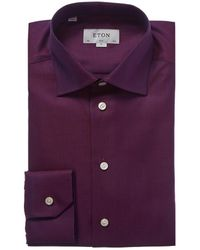 Eton of Sweden Contemporary Fit Dress Shirt